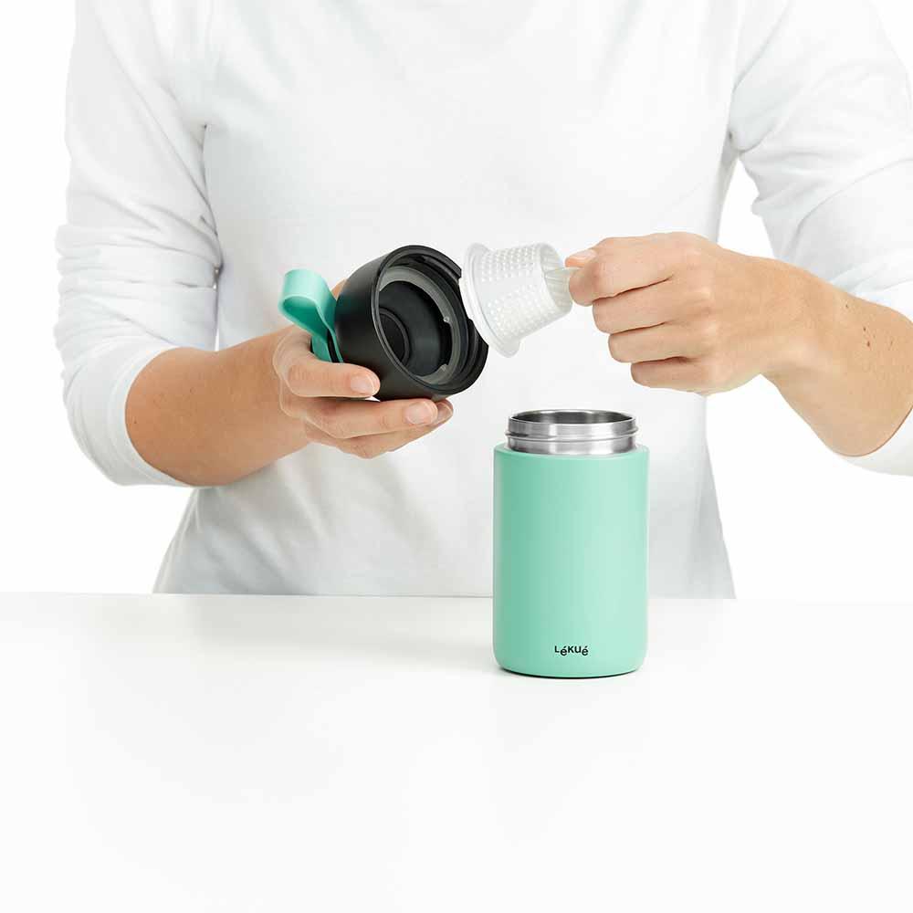 Botella Isotermica Lekue To Go 300 ml hogarami.es