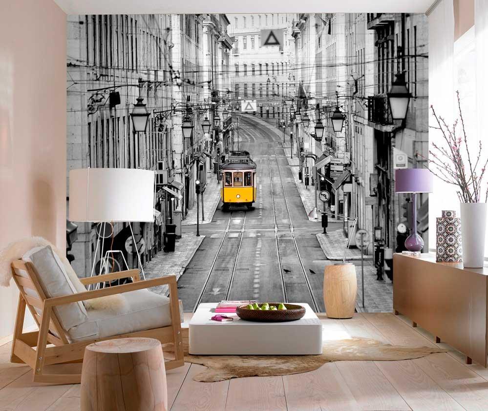 Fotomural 00971 Streets Of Lisbon hogarami