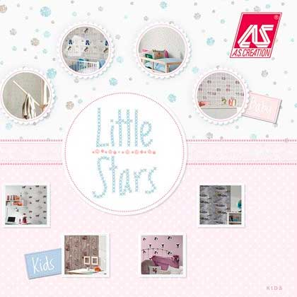Papel Pintado Little Stars Baby hogarami